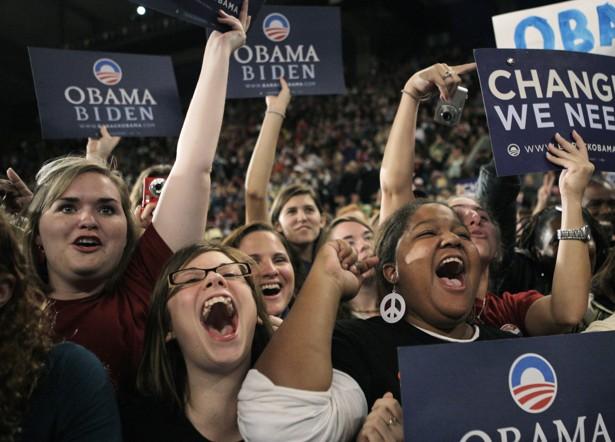 Image result for obama millennial