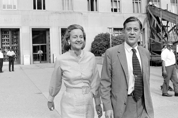 Kay Graham and Ben Bradlee