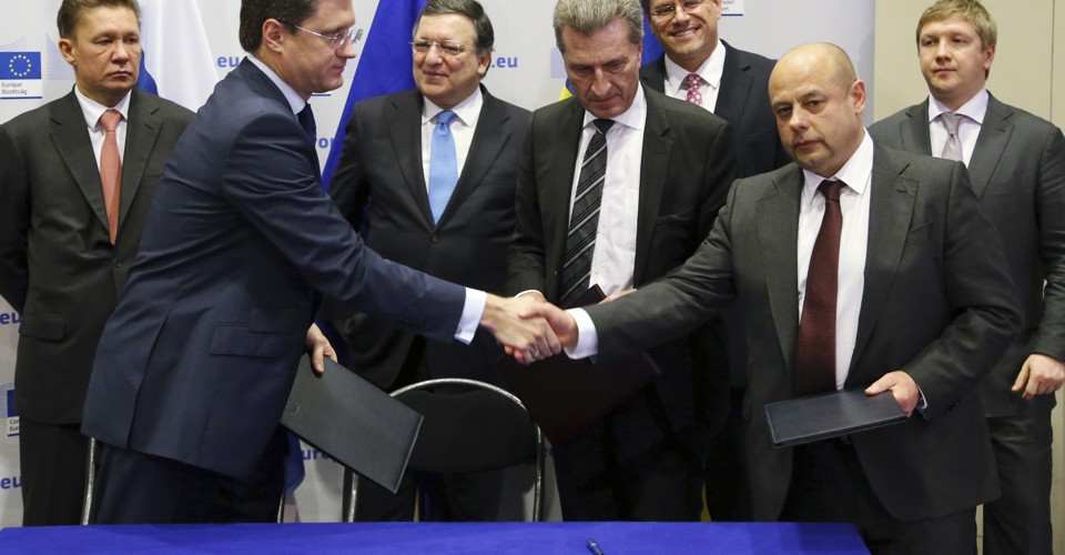 Russia Ukraine Reach Deal On Natural Gas Supplies The