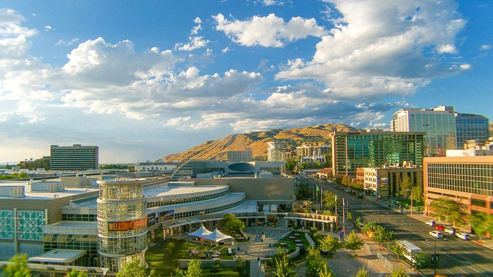 Salt Lake City Pictured Is The One Of Rare Cities That Scores Highly On Two Separate Measures Housing Affordability And Upward Mobility