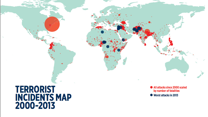 The Geography of Terrorism - The Atlantic