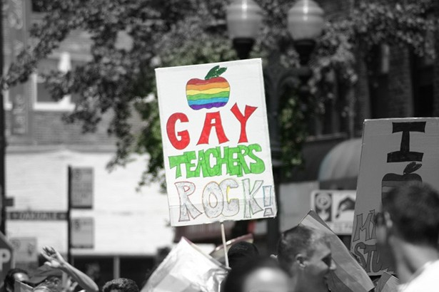 the plight of being a gay teacher