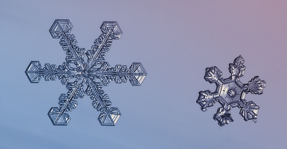 Could A Computer Think Up As Many Unique Snowflakes As Nature The