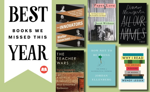Six Books We Missed This Year The Atlantic