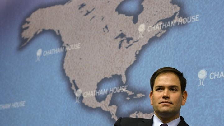 Marco Rubio\'s Old-School Cuba Policy - The Atlantic