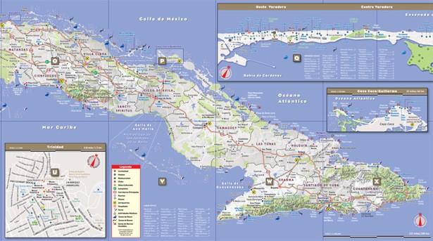 In Cuba Maps Make A Comeback The Atlantic