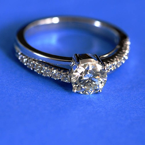How An Ad Campaign Invented The Diamond Engagement Ring The Atlantic