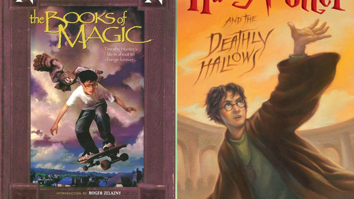 Neil Gaiman S The Books Of Magic And Harry Potter S Forgotten