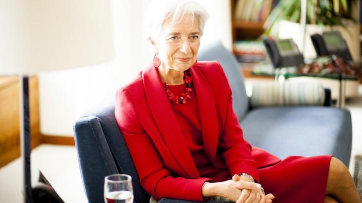 IMF Chief Christine Lagarde: Slow Economic Growth Is 'New