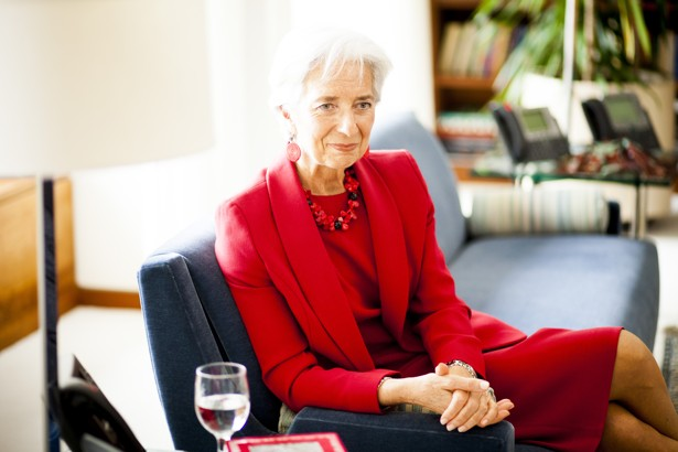 Imf Chief Christine Lagarde Slow Economic Growth Is New