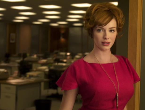 Redhead from mad men