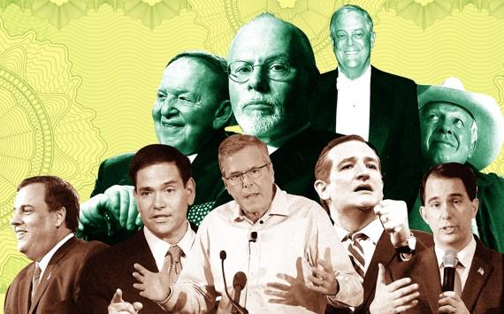 theatlantic.com - The Billionaire Magnates Behind the GOP Candidates