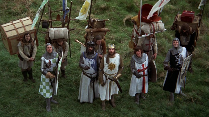 how monty python and the holy grail influenced film by satirizing
