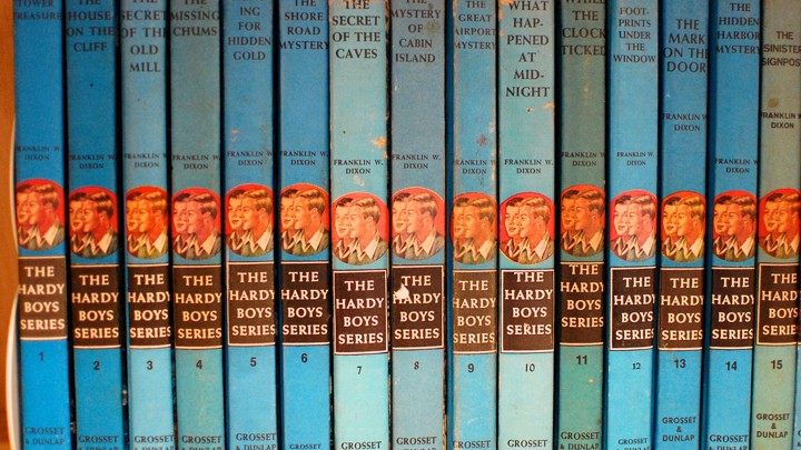 The Hardy Boys Nancy Drew And The Secret Ghostwriters Of