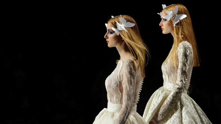 e2b21c907 Aisle Be Seeing You  The Rise of the Totally Transparent Bridal Gown ...