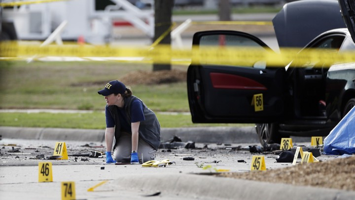 The - Texas Garland Atlantic Attack Terrorist In