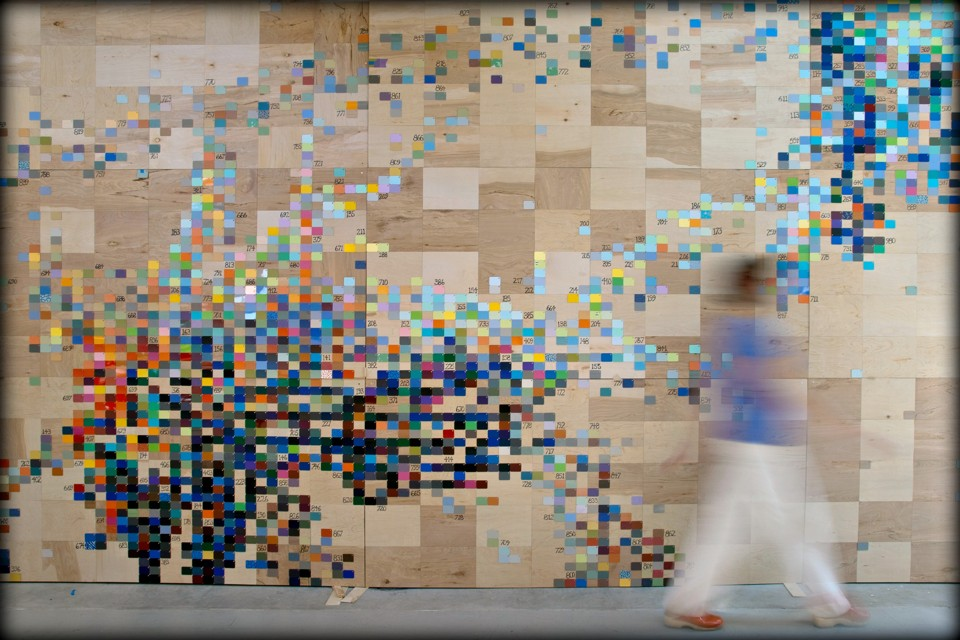 How Data Became A New Medium For Artists The Atlantic - Physical movement turned amazing art