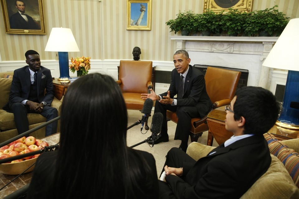 obama and immigration reform   the atlantic barack obama meets with quotdreamersquot in the oval office in february  kevin lamarque  reuters