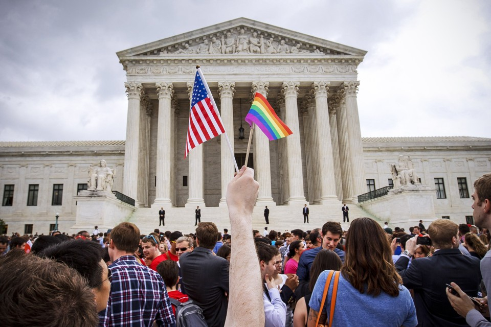 the supreme court rules that gay marriage is a constitutional  most popular