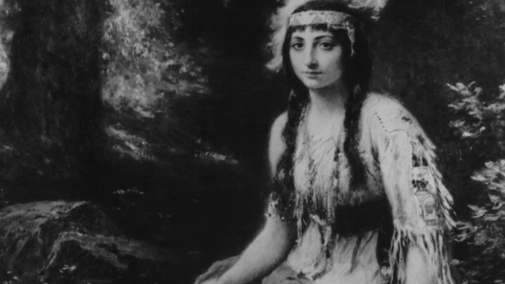 similarities between pocahontas the movie and real life