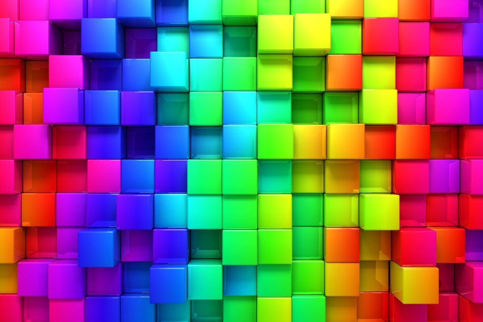 pixel rainbow wallpaper google - photo #38