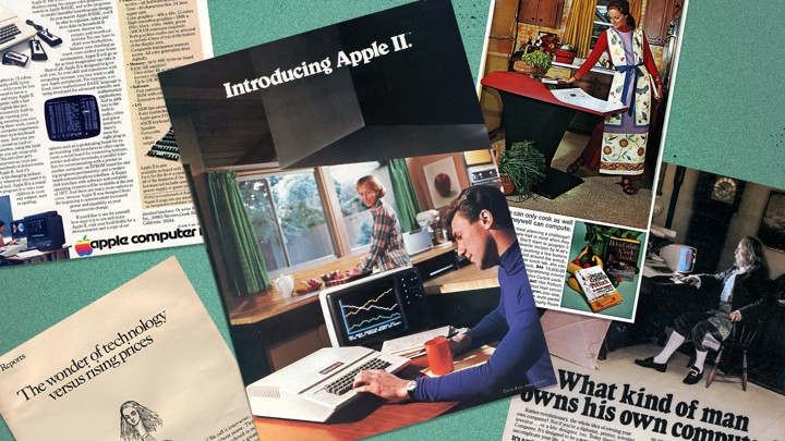 Clear the Kitchen Table': How Apple and IBM Marketed the First