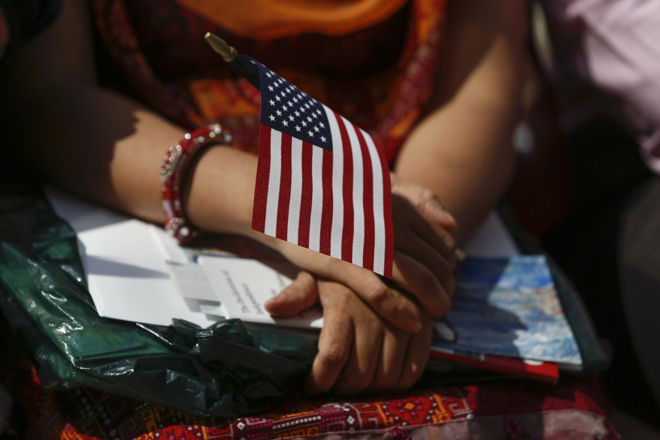 Why don't minorities/immigrant learn English before they move to the U.S.?