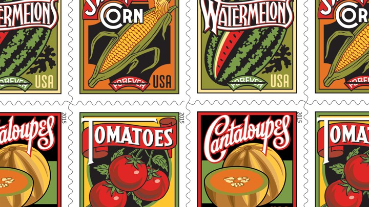 Summer Harvest The New Forever Stamp Series The Usps Hopes Will - United-states-forever-stamps