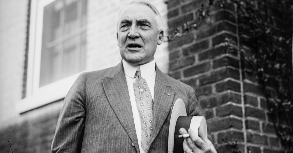 the life and political career of warren gamaliel harding Calvin coolidge was born on july coolidge quickly pursued a political career as well the republican presidential candidate was ohioan warren gamaliel harding.