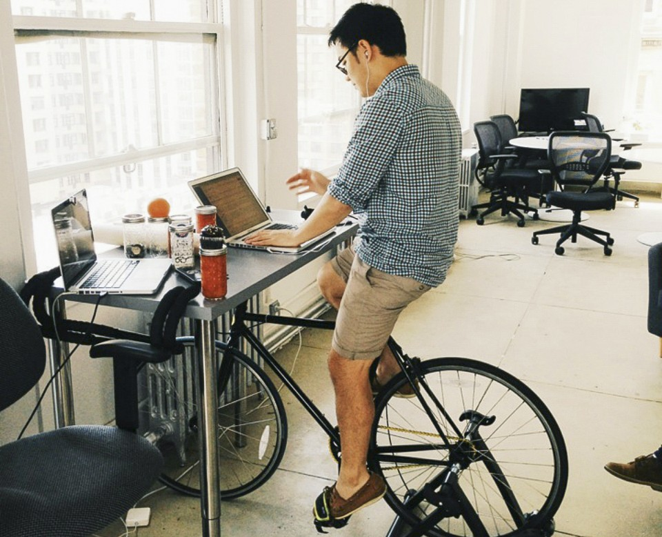 Bicycle Desks A Good Idea The Atlantic