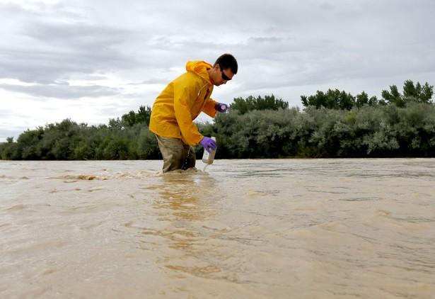Colorado Toxic Spill Turns Animas River Orange  The Atlantic