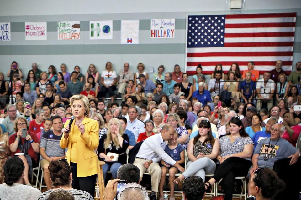 Hillary Clinton  Read Her Speech on Donald Trump s  Hate    Time com Hillary s Woman Problem