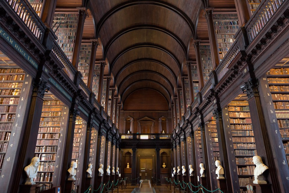 relative booklessness and the library of the future the atlantic trinity college library in dublin vanderwolf images shutterstock
