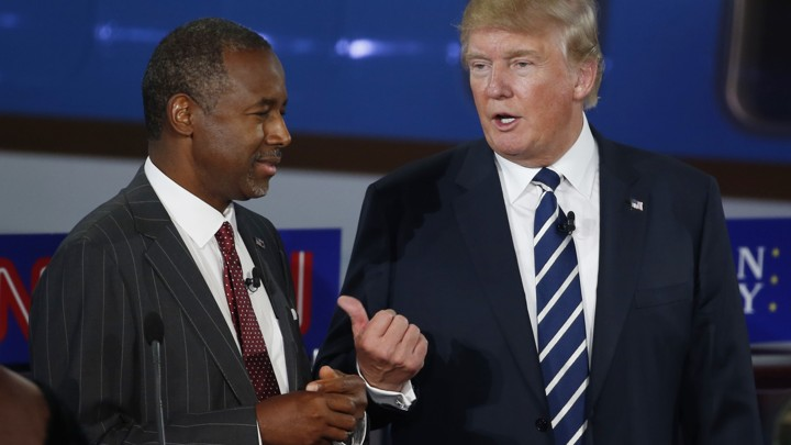 Trump Meets With Vaccine Skeptic >> How Donald Trump And Ben Carson Stoked Vaccine Fears During The