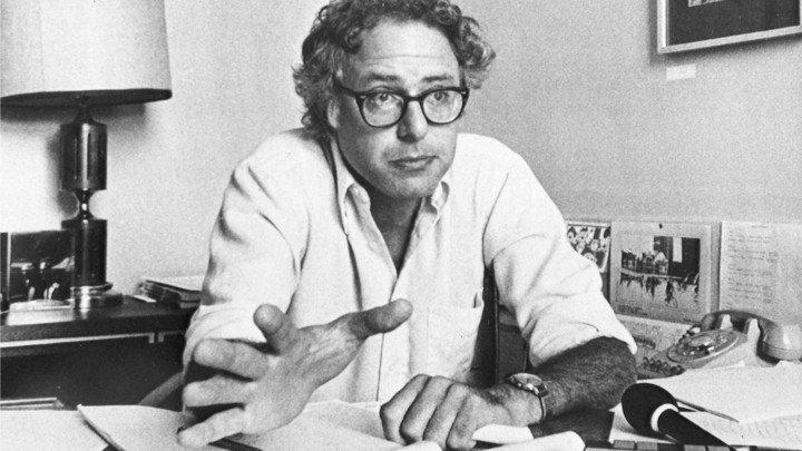 Bernie Sanders, the Socialist Mayor of Burlington, Vermont
