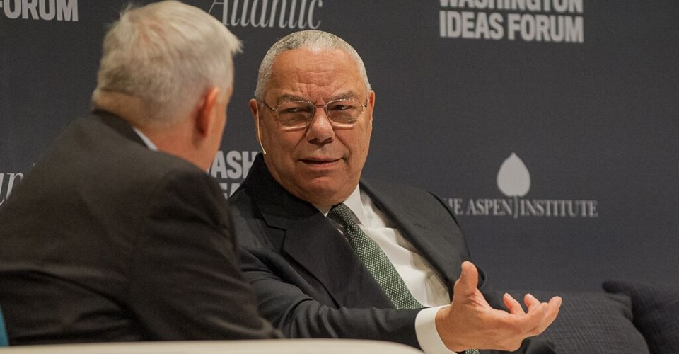 Colin Powell On How His Pottery Barn Rule Applies To Syria