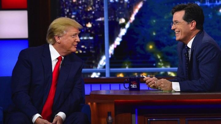 Stephen Colbert: President Trump is a terrible golfer