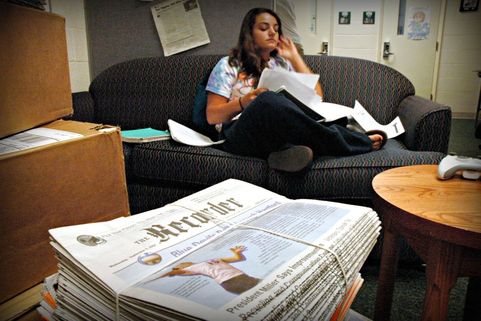College student newspapers