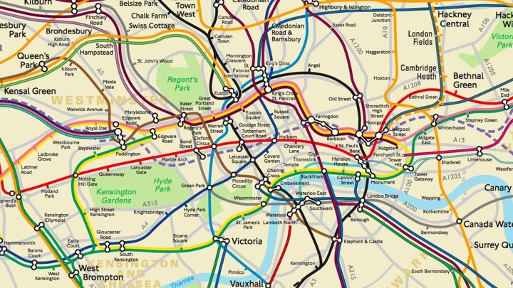 Map Of London With Underground.Tube Boob Behold The Geographically Accurate Map Of The London