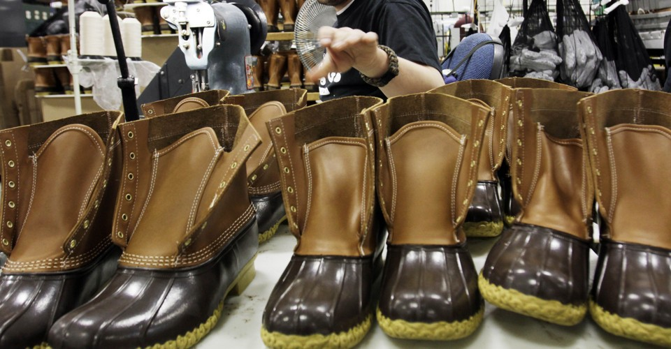 why ll beans boots keep selling out the atlantic