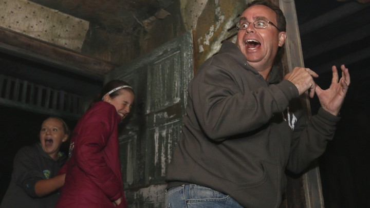 the allure of haunted houses why do people pay to feel scared