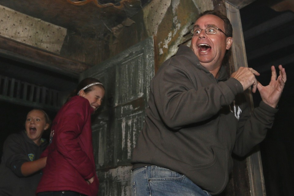 the allure of haunted houses why do people pay to feel