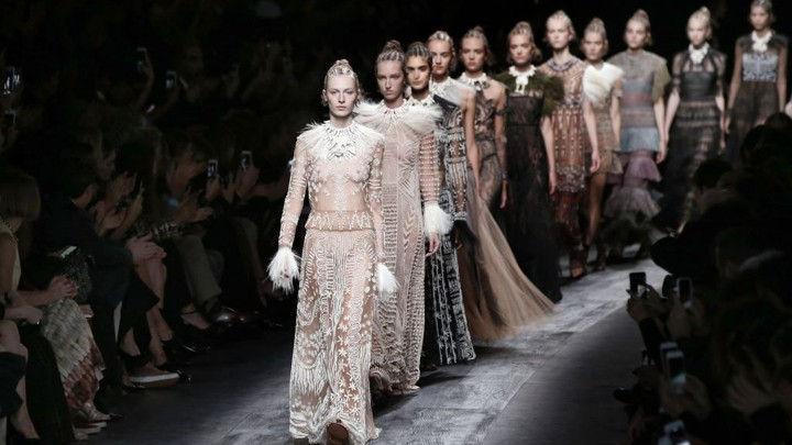 The Dos And Donts Of Cultural Appropriation  The Atlantic Valentinos Collection At Paris Fashion Weekpatrick Kovarik  Afp  Getty  Images Romeo And Juliet Essay Thesis also Persuasive Essay Example High School  Do My Economics Assignment