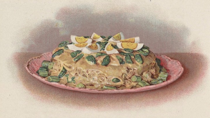 An economic history of leftovers the atlantic to repurpose leftover food home chefs relied on recipes such as this one an asparagus shortcake from 1908s the cooks book forumfinder Images