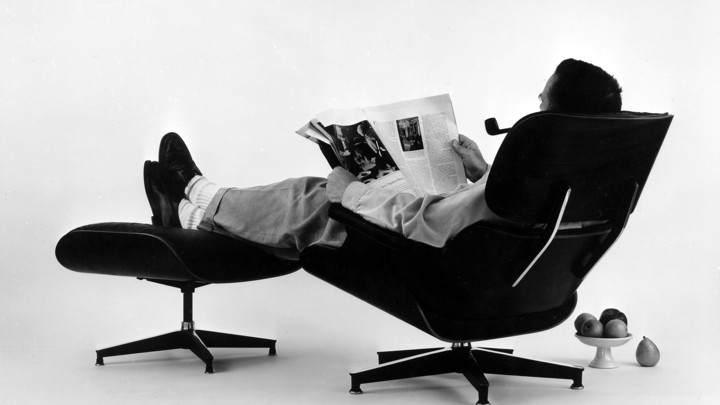 Ray and charles eames furniture Easy Eames Office Nova68 Beyond The Chair The Vision Of Charles And Ray Eames The Atlantic