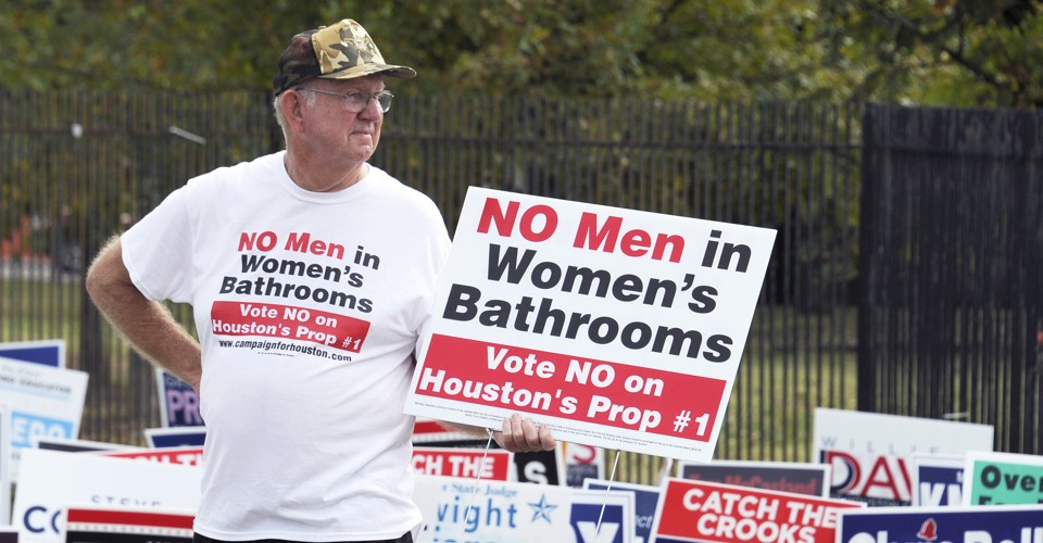 How bathroom fears conquered transgender rights in houston - Transgender discrimination bathroom ...