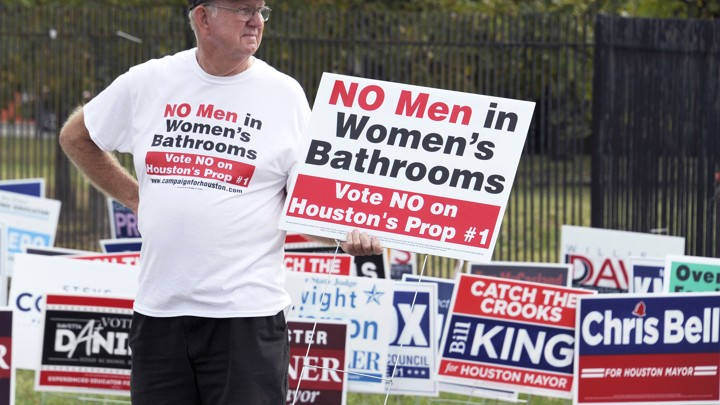 How Bathroom Fears Conquered Transgender Rights In Houston The - Transgender bathroom rights