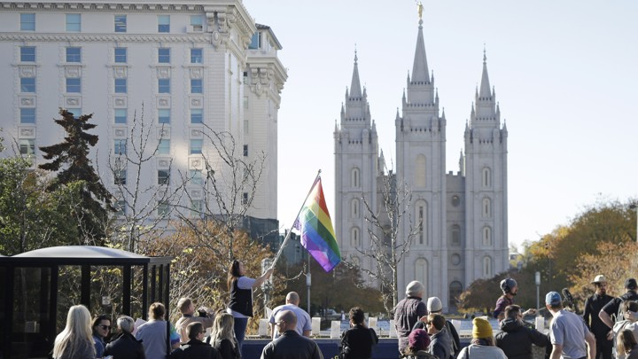 Gay Mormon Gets Railed