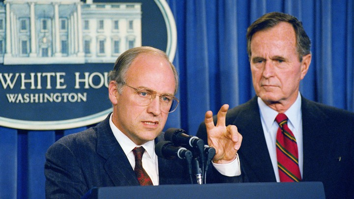 Why Were In Iraq And Why Bush And >> George H W Bush S Criticisms Of Donald Rumsfeld And Dick Cheney Go
