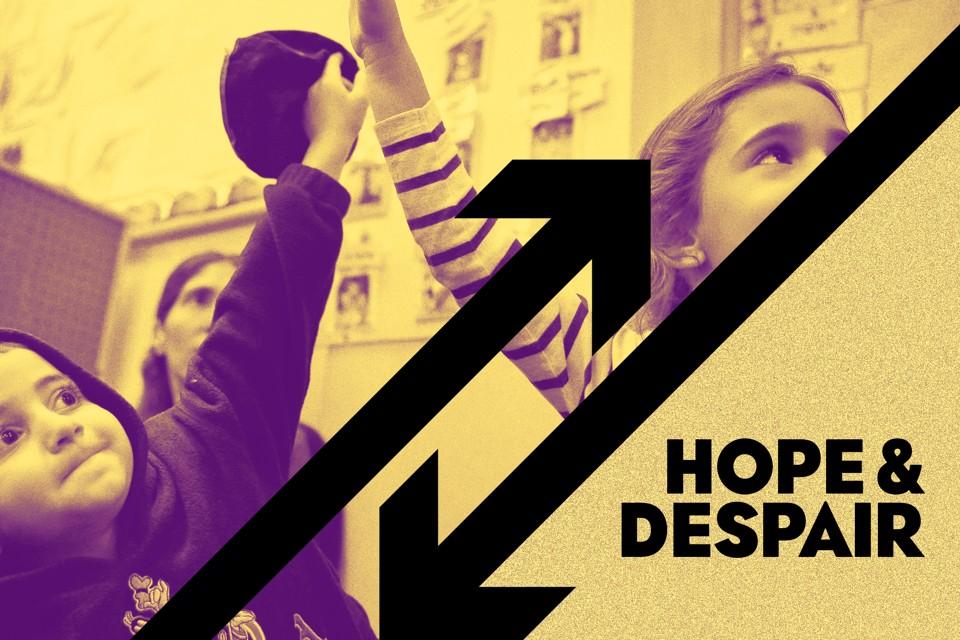 Novels show hope and despair Essay
